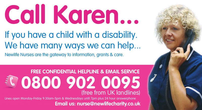 Newlife the Charity for Disabled Children - Call